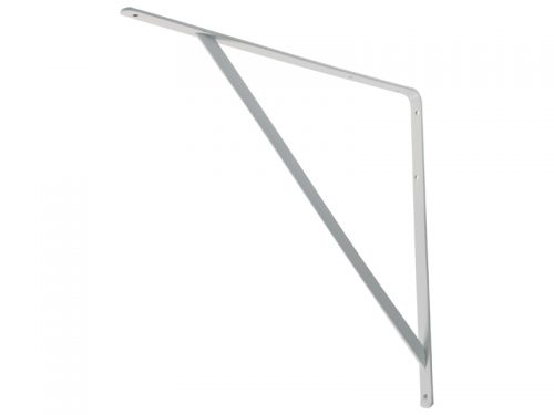 L-SHELF BRACKET - H/D WHITE 450*400*5mm