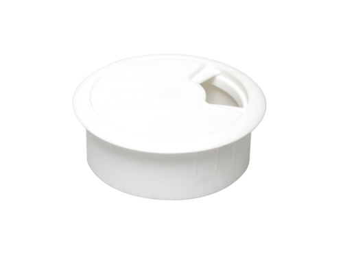 CABLE OUTLET - WHITE D-63mm