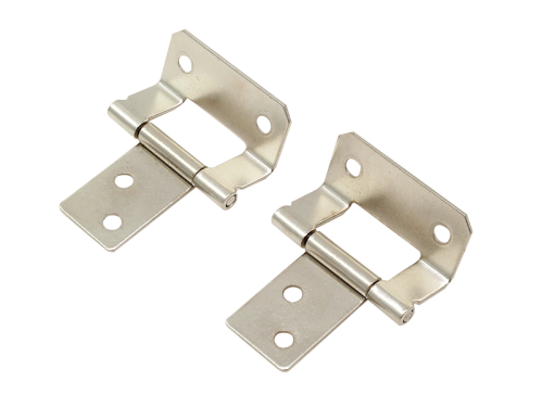 HINGE - 40mm EZYFIT HINGE - NICKLE PLATE