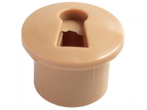 ESCUTCHEON - PLASTIC ESC OAK (5000)