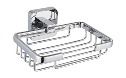 SOAP HOLDER WITH RACK ZINC ALLOY