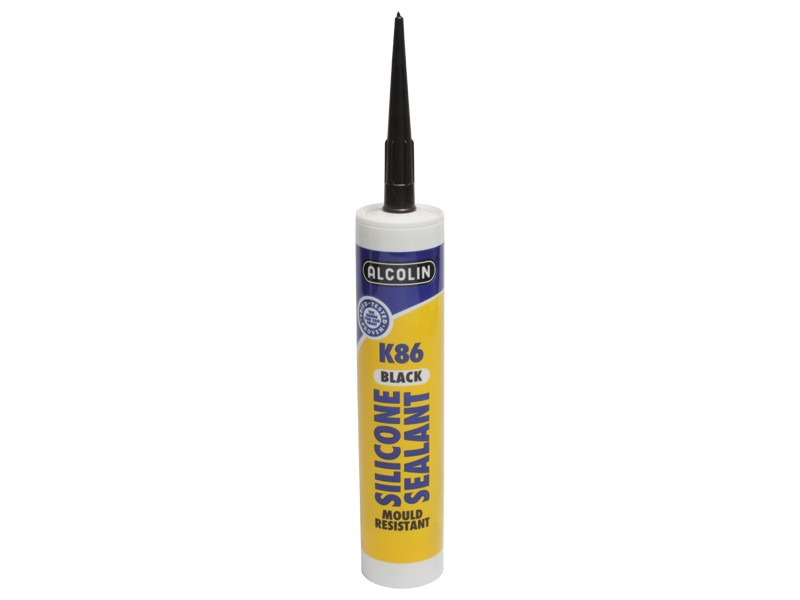 K86 SILICONE SEALANT BLACK
