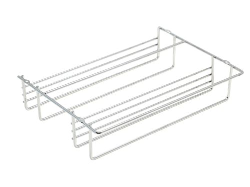 SPICE RACK CP- 2 TIER STEEL FINISH
