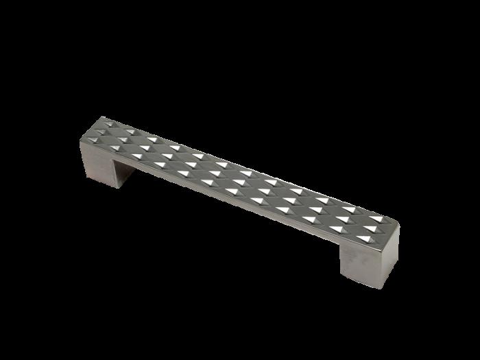 DESIGN BAR 128mm BLACK NICKLE