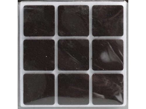 PROTECTIVE PAD 25mm SQUARE (18PCS)