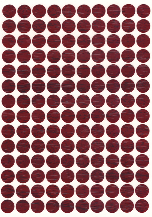 SCREW CAPS STICK ON CHERRY 100PK * 140
