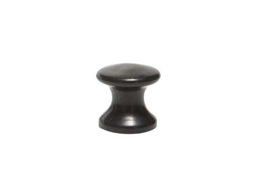 PLASTIC - KNOBS MATT BLACK