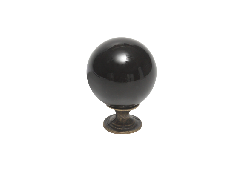 KNOB - CERAMIC BLACK