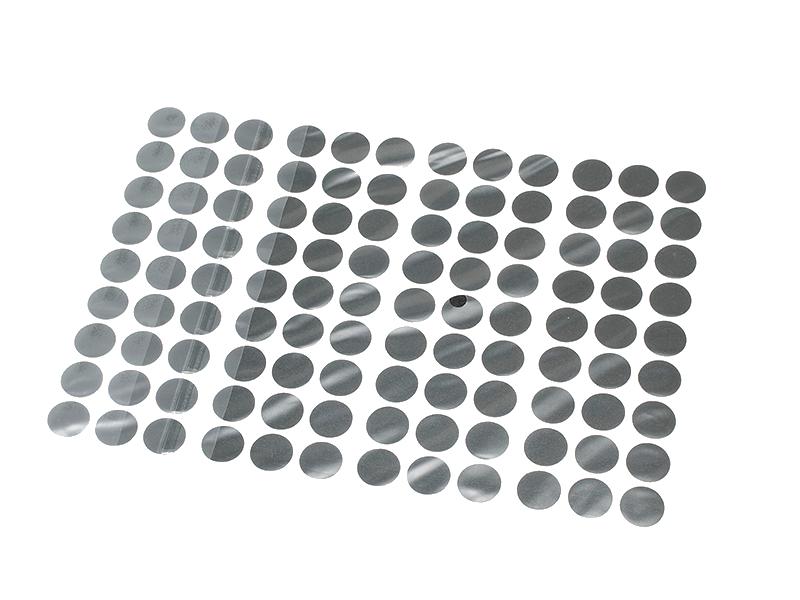 SCREW CAPS STICK ON BLACK (100PK * 140)
