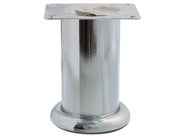 SOFA LEG - C263- 100mm WITH 88mm BASE-CP