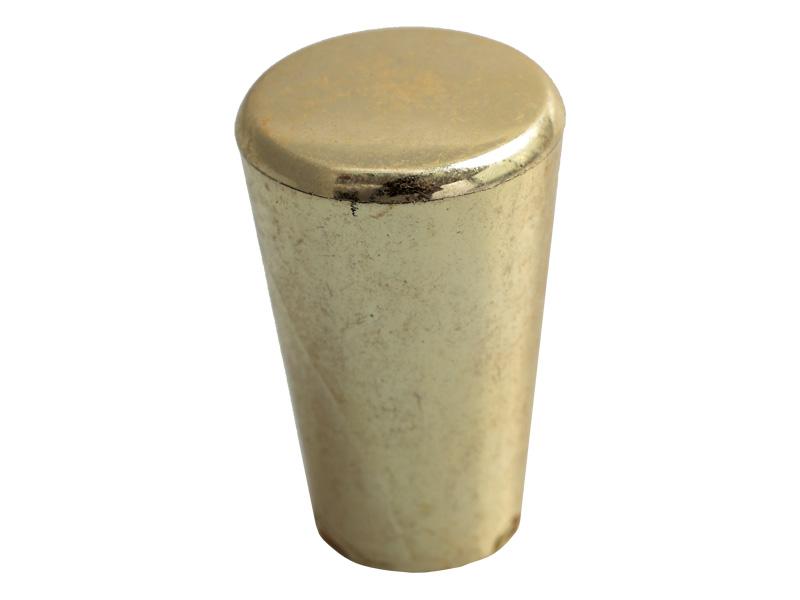 PLASTIC - TAPERED KNOB - GOLD