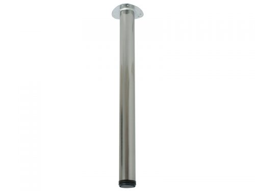 TABLE LEG 60 X 710 SATIN NICKEL