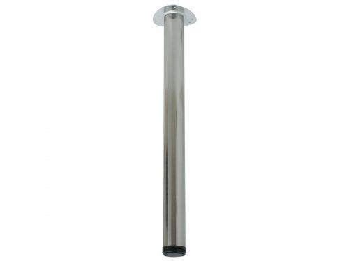 TABLE LEG 60 X 710 SATIN NICKEL