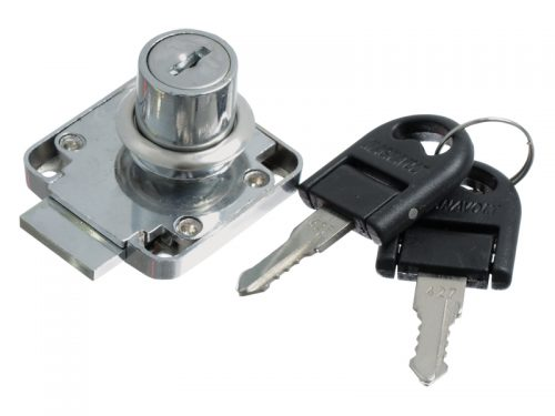 DRAWER LOCK CP 19X22 FOLDABLE KEY K/D