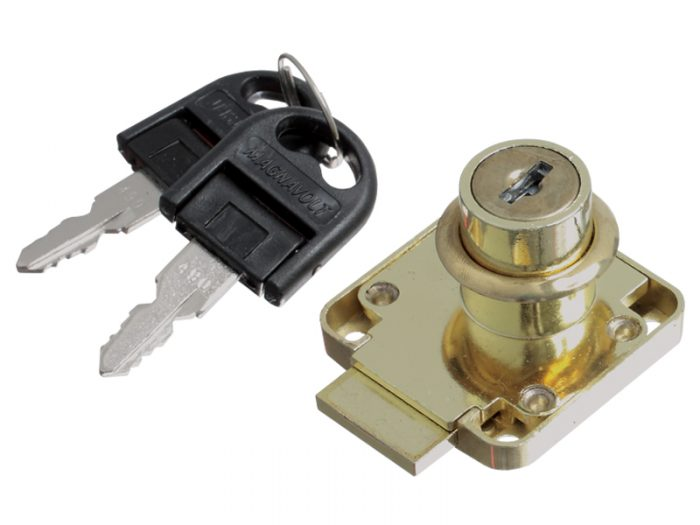 DRAWER LOCK BP 19X22 FOLDABLE KEY K/D