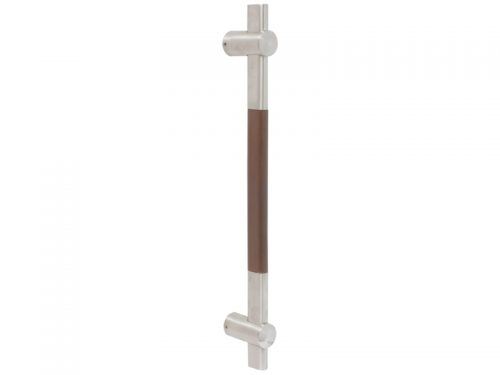 ENTRANCE DOOR HDLE - 450mm S/S WOOD 269