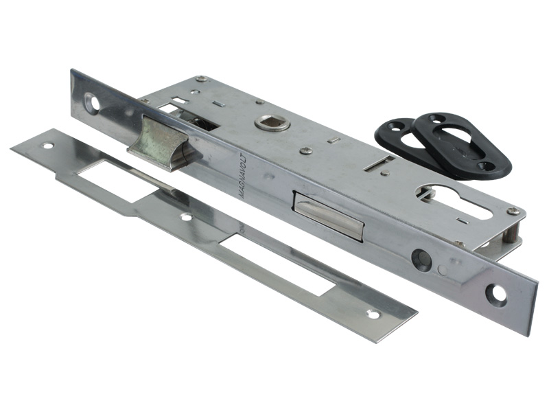 LATCHLOCK S/S 35mm B/ST WITHOUT CYLINDER