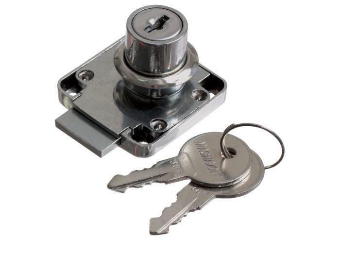 DRAWER LOCK CP BRASS KEY - K/D