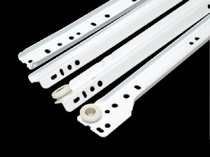 DRAWER RUNNER 550mm WHITE