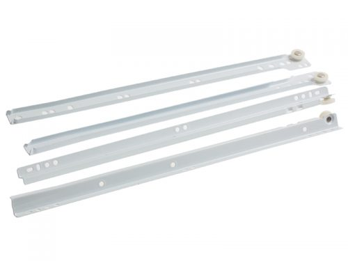 DRAWER RUNNER 400mm WHITE