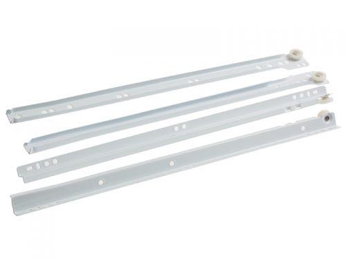 DRAWER RUNNER 400mm WHITE