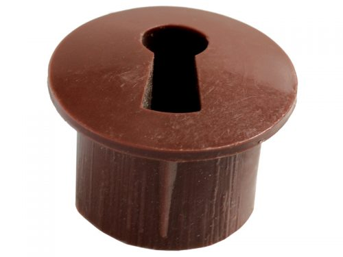 ESCUTCHEON - PLASTIC BROWN (5000)