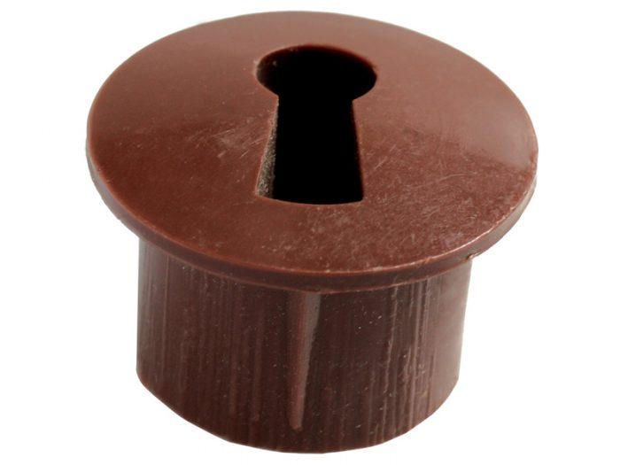 ESCUTCHEON - PLASTIC BROWN (5000)