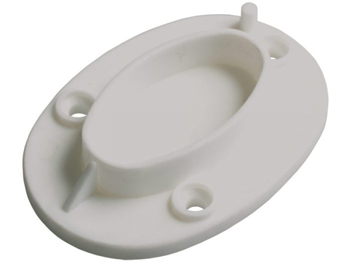 PLASTIC - 19mm OVAL TUBE SUPPORT(OP)-250