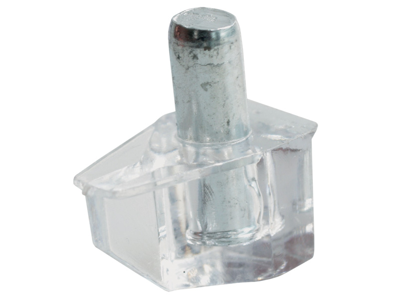 PLASTIC - SHELF STUD CLEAR