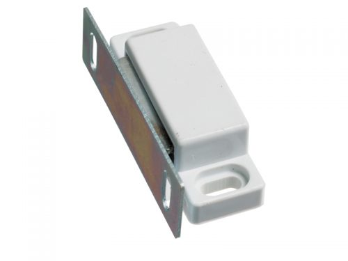 DOOR CATCH - MAGNETIC - WHITE