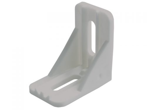 PLASTIC-SHELF SUPPORT-WHITE SMALL (1500)