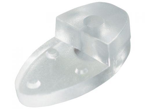 PLASTIC-MIRROR CLIP CLEAR - 10's