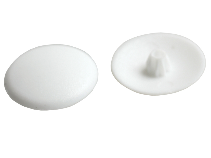 PLASTIC -SCREW CAPS 20's WHITE
