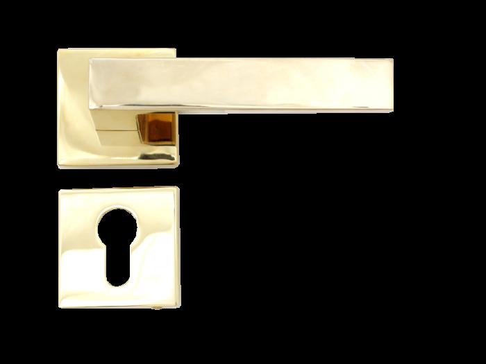 LEVER DOOR HND- Z5-4873 PVD CYLINDER