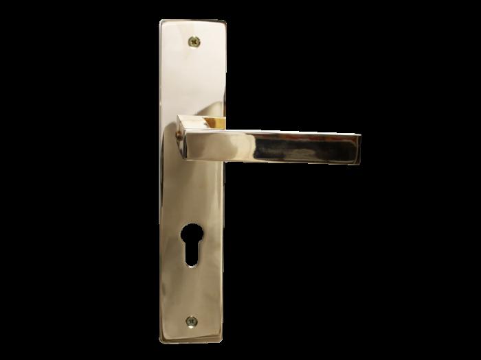 LEVER DOOR HND-Z5-9373 PVD CYLINDER SQR