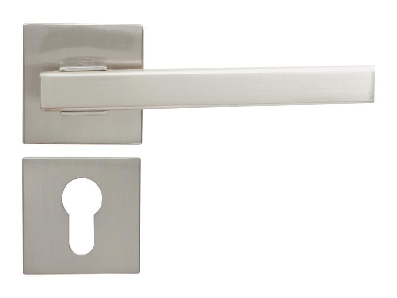 LEVER DOOR HND - Z5-4876 BN CYLINDER