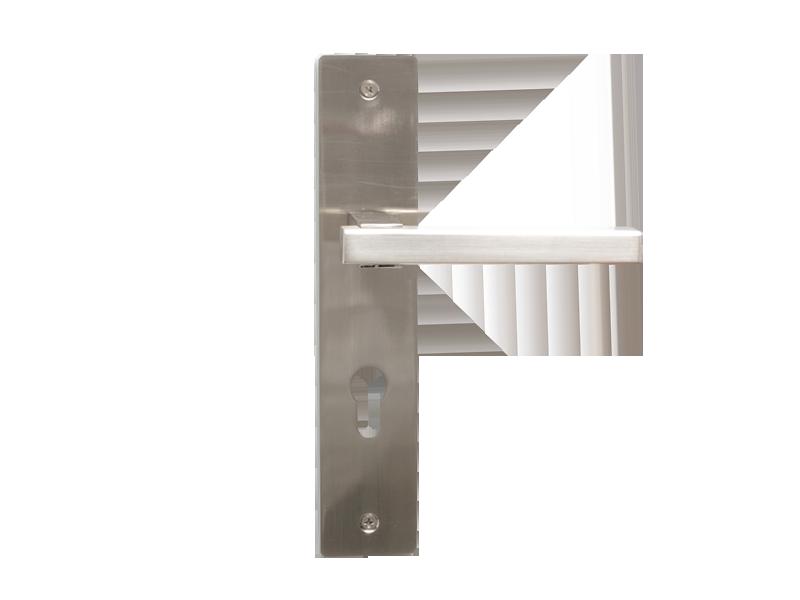 LEVER DOOR HND - Z5-9376 - BN-CYLND-SQR