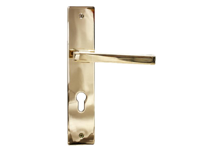 LEVER DOOR HND-Z5-9376 - PVD-CYLND-SQR