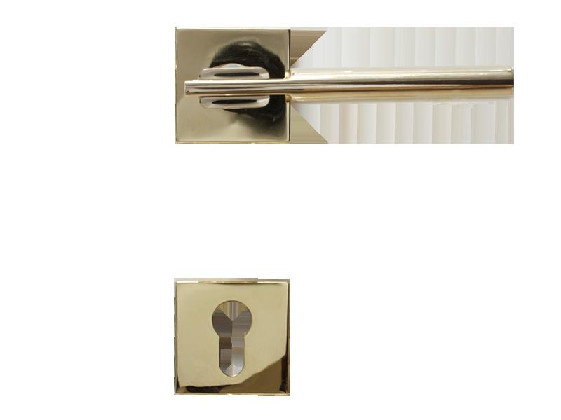LEVER DOOR HND-Z5-4838 PVD CYLINDER