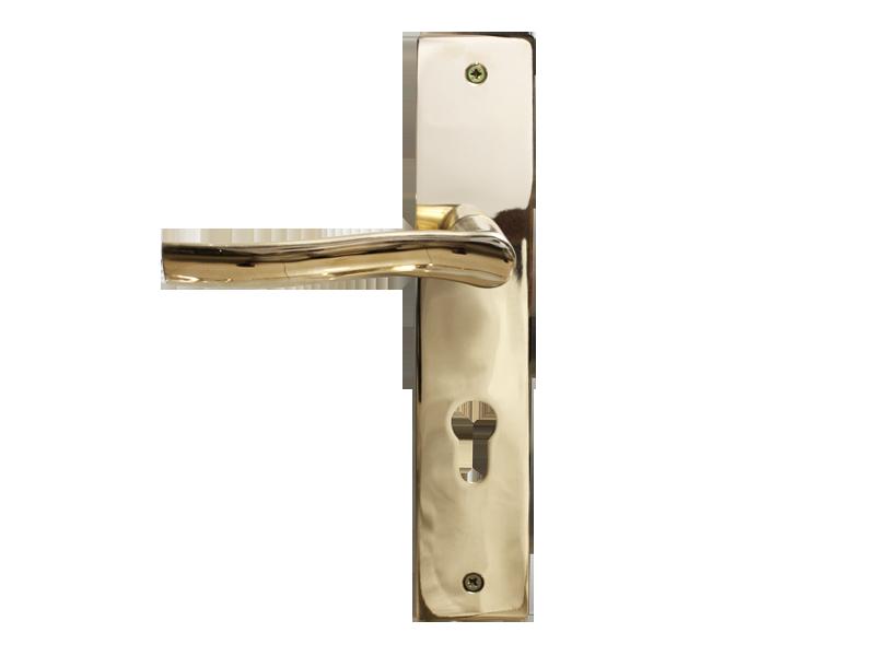 LEVER DOOR HND-Z5-9334 PVD CYLINDER SQR