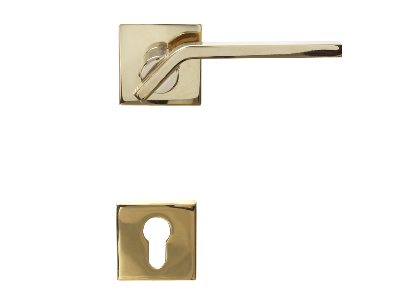 LEVER DOOR HND-Z5-4912 BN KEY PVD CYLINDER