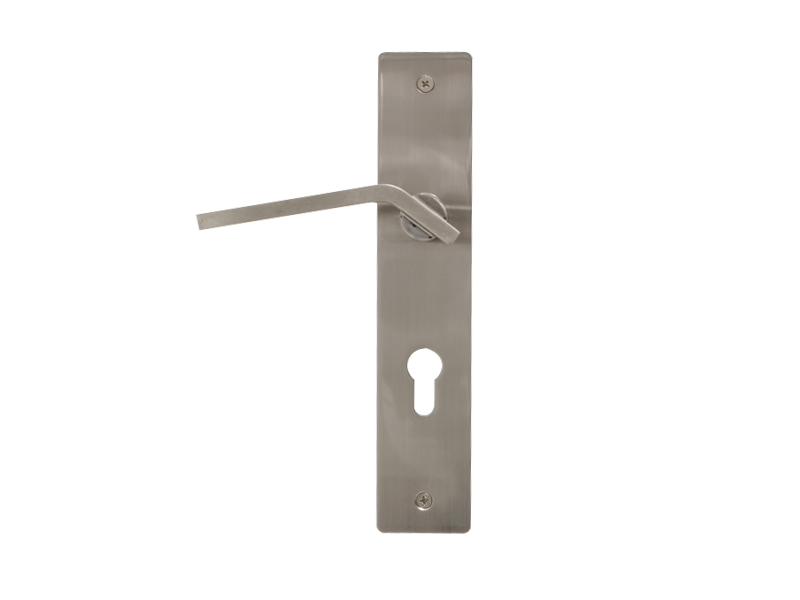 LEVER DOOR HND-Z5-9312 BN CYLINDER SQR