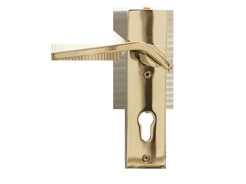 LEVER DOOR HND-Z5-8112 PVD CYLINDER SQR