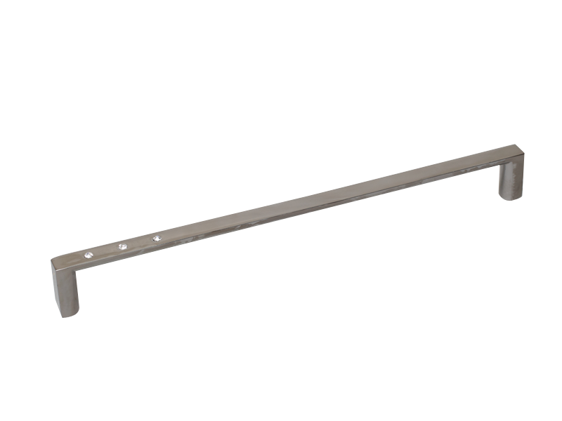 DIAMANTE BAR - 3 CRYSTAL 128mm BN