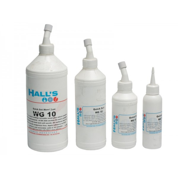 HALLS WG10 WOOD GLUE 500ML